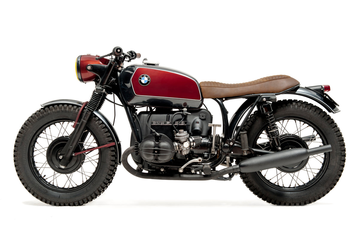 This BMW R75/5 from Ton-Up Garage evokes the glamour and sophistication of a bygone age.
