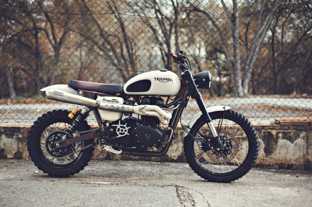 Best custom motorcycle builders: David Lopez of Triumph.