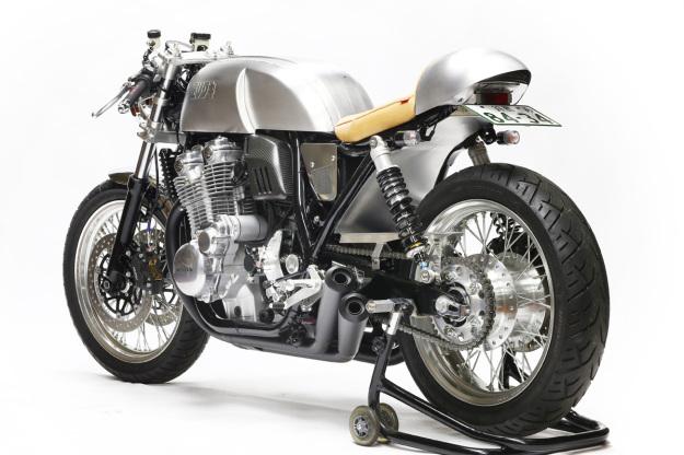 Moriwaki 40th Anniversary Honda CB1100 cafe racer.