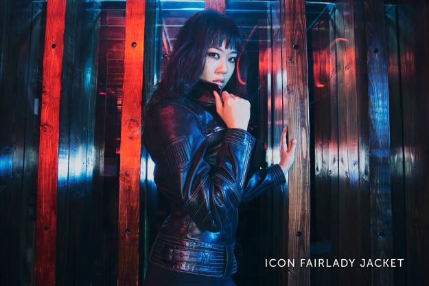 Icon Fairlady motorcycle jacket.