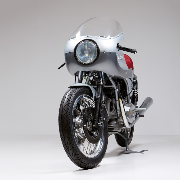 This Ducati 860 GT was restored and lightly modified by Made In Italy Motorcycles.