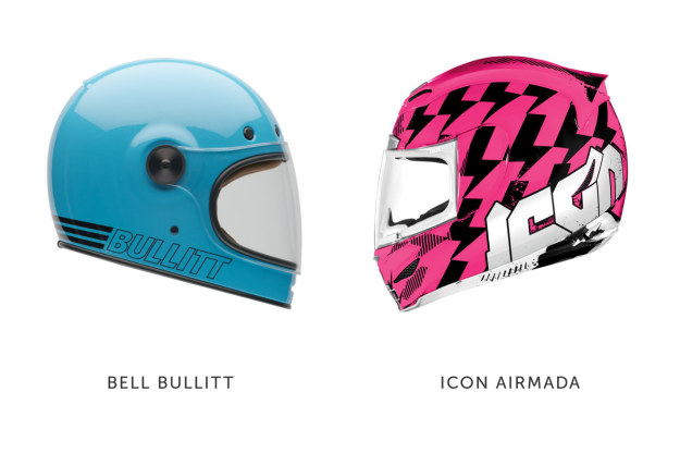 The coolest Women's motorcycle helmets.