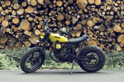 Enter Sandman: French Atelier's Yamaha TW125