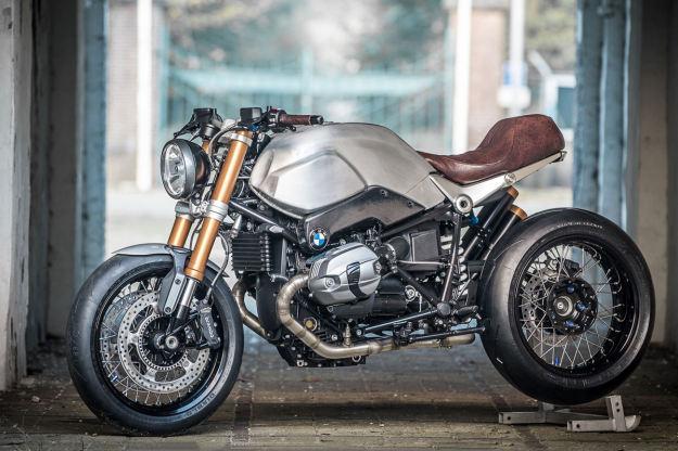 BMW R nineT customized by Smokin' Motorcycles.