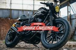 Bolts From The Blue: Yamaha Garage Challenge