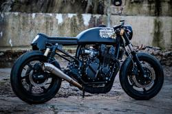 Paint It Black: CB 750 x Corpses from Hell