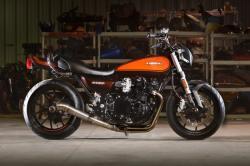 70s Muscle: Santiago's Kawasaki Z1000 cafe racer