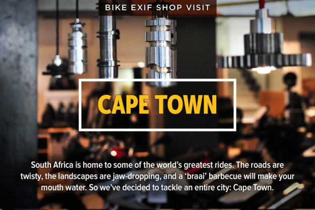 South Africa is home to some of the world's greatest rides. The roads are  twisty, the landscapes are jaw-dropping, and a 'braai' barbecue will make your  mouth water. So we've decided to tackle an entire city: Cape Town.
