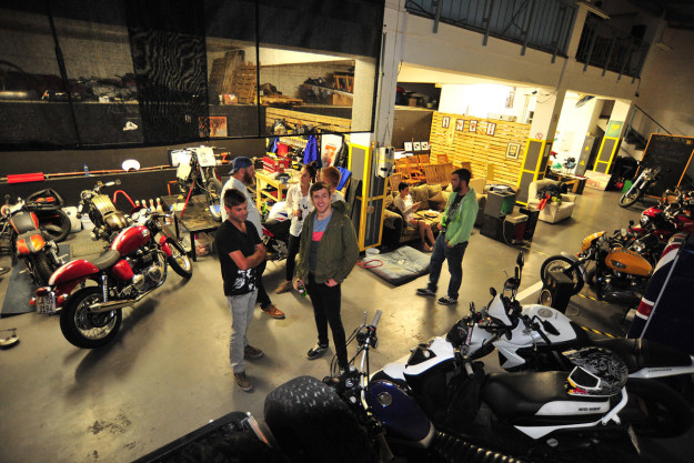 Cape Town motorcycle shop: The Woodstock Man Cave.