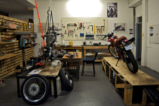 Garage Design Motorcycle : Shop visit cape town south africa bike exif