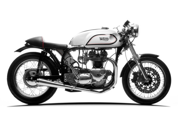 Adam Grice's immaculate Triton cafe racer build.