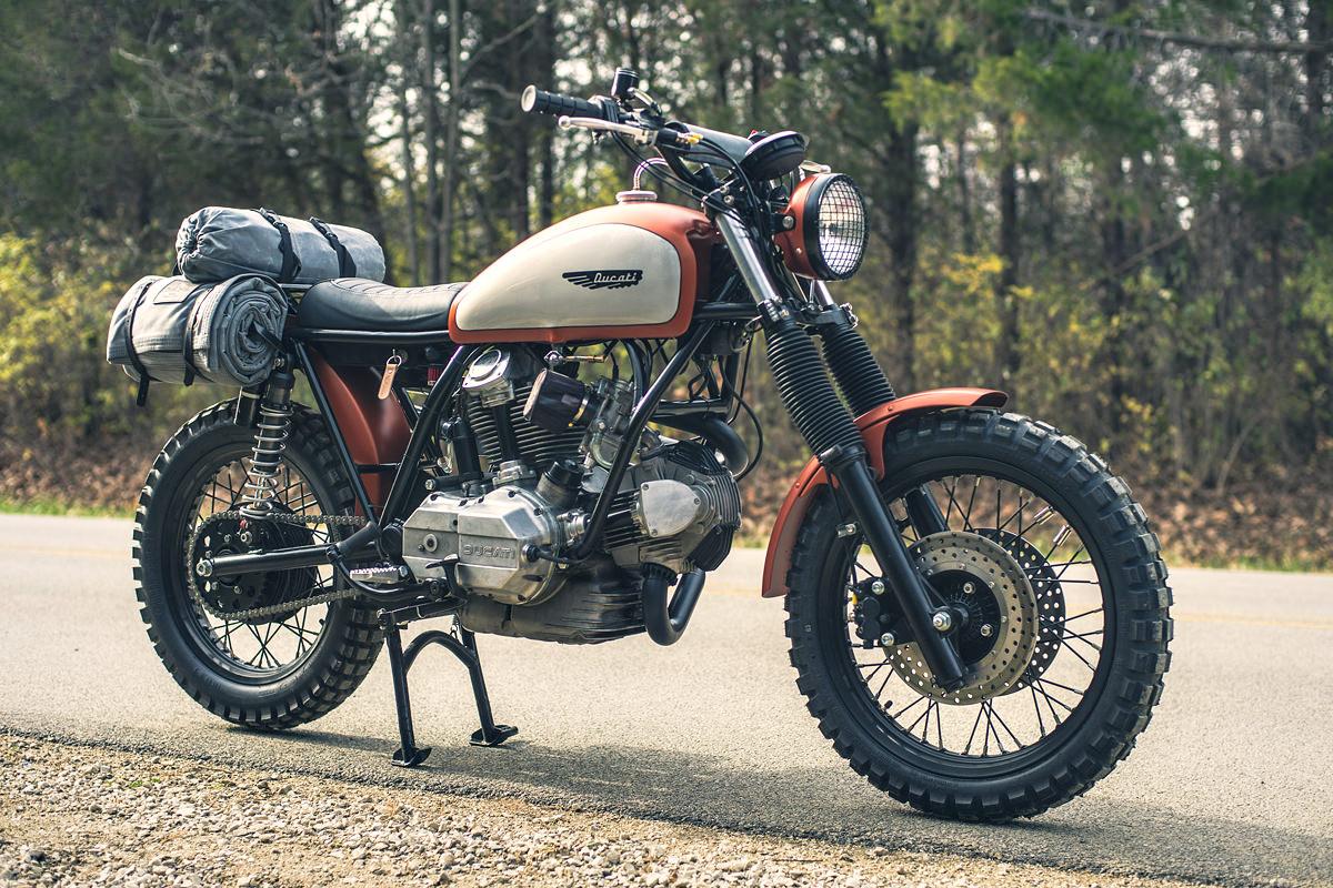 super scrambler: an old-school ducati custom   bike exif