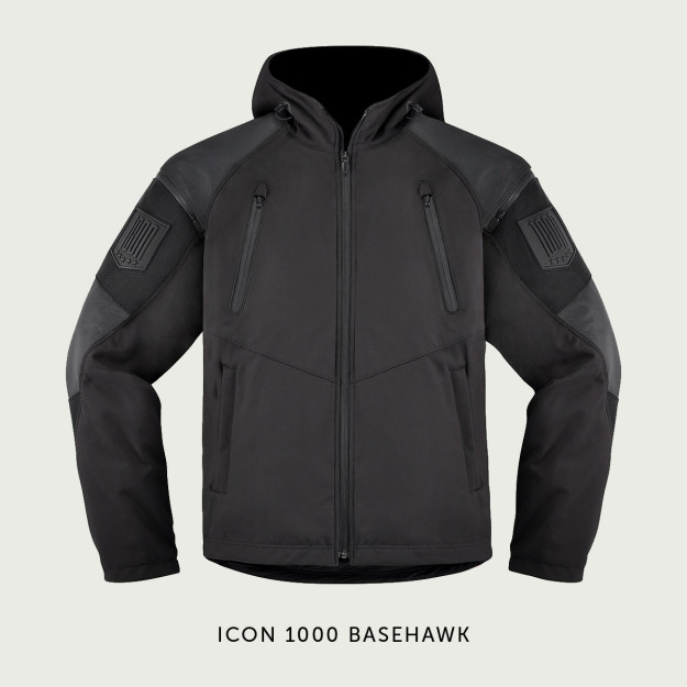 Icon 1000 Basehawk motorcycle jacket.