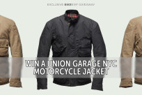 Win a Union Garage NYC x Vanson Leathers motorcycle jacket