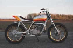 Yamaha DT250 by One Down Four Up
