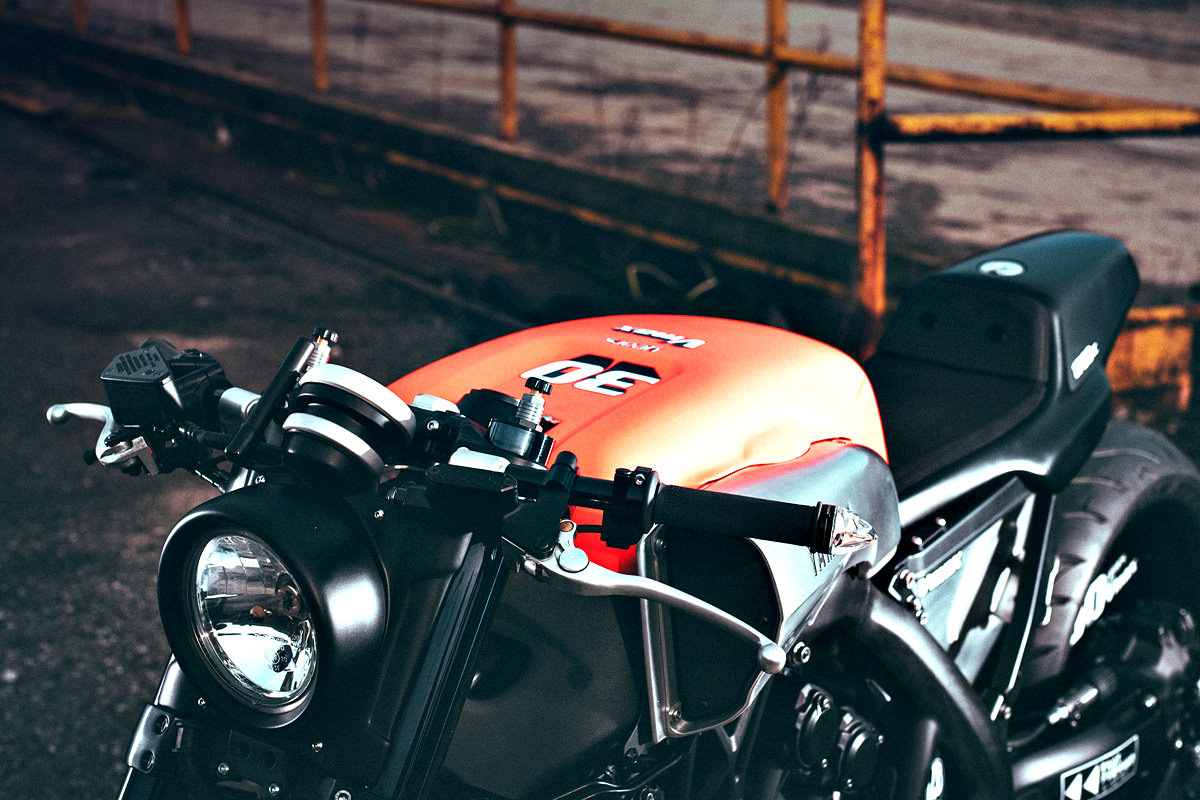 maxed out: yamaha's yard built vmax custom | bike exif
