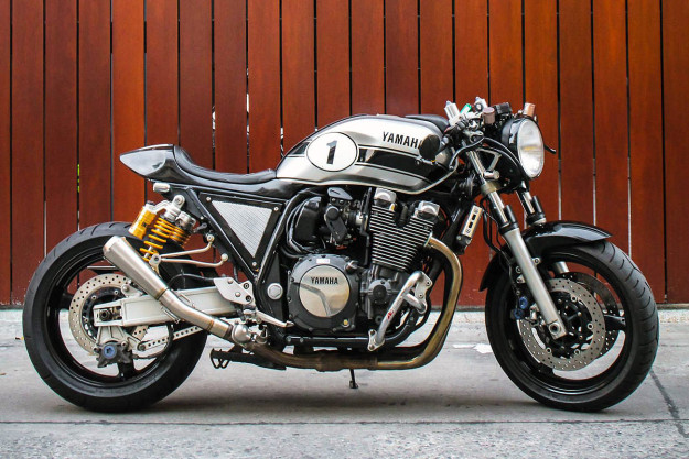 Custom Yamaha XJR1300 by The Sports Custom of Turkey