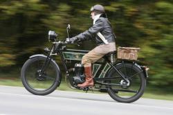 The Black Douglas: A Two-Wheeled Morgan