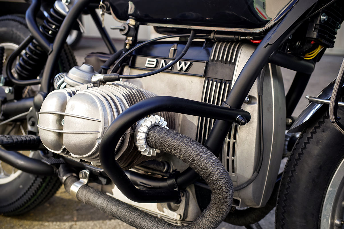 Customizing A Classic Crds Bmw R80st Bike Exif Rewiring Car Another Habit That Crd Have Formed Is Each Of Their Bmws With Full Complement Motogadget Bits At The Heart New Electrical System
