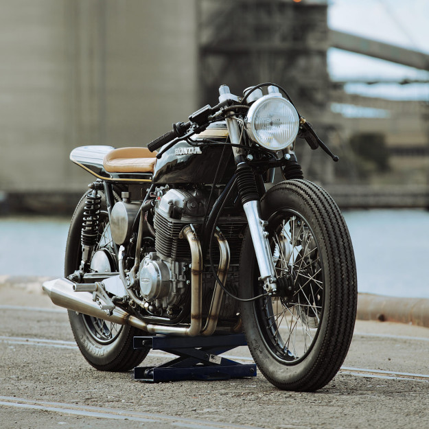 A stunning custom Honda CB750K from Glory Road Motorcycles of Adelaide, Australia.