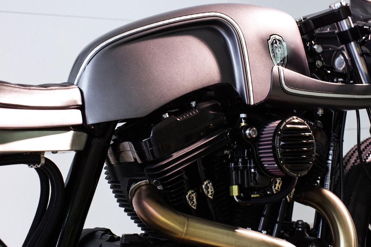 slate hammer: rough crafts' custom sportster | bike exif