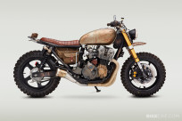 When the producers of The Walking Dead needed a motorcycle for Daryl Dixon to ride, they commissioned John Ryland of Classified Moto to build it.