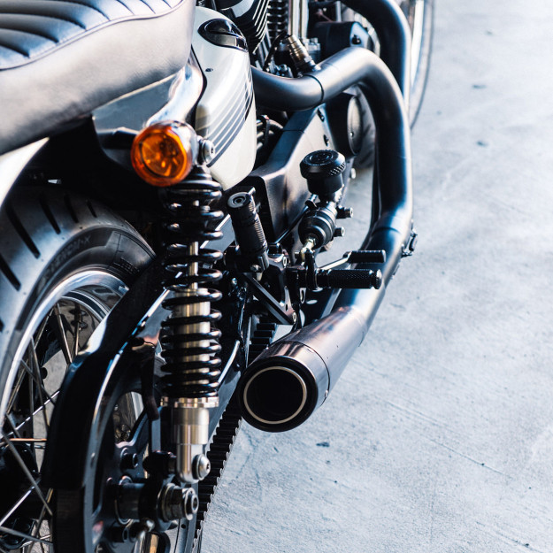 The latest custom to roll out of the Deus Customs headquarters in Sydney is a sublime mix of elegance and power.