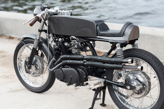 An industrial designer lets loose on the iconic Honda CB77, and the result is stunning.