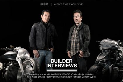 BMW K 1600 GTL Custom Project: Builder Interviews