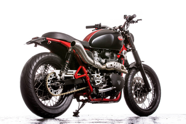 Classic style, modern performance: A Triumph Bonneville SE transformed by Down & Out Cafe Racers.