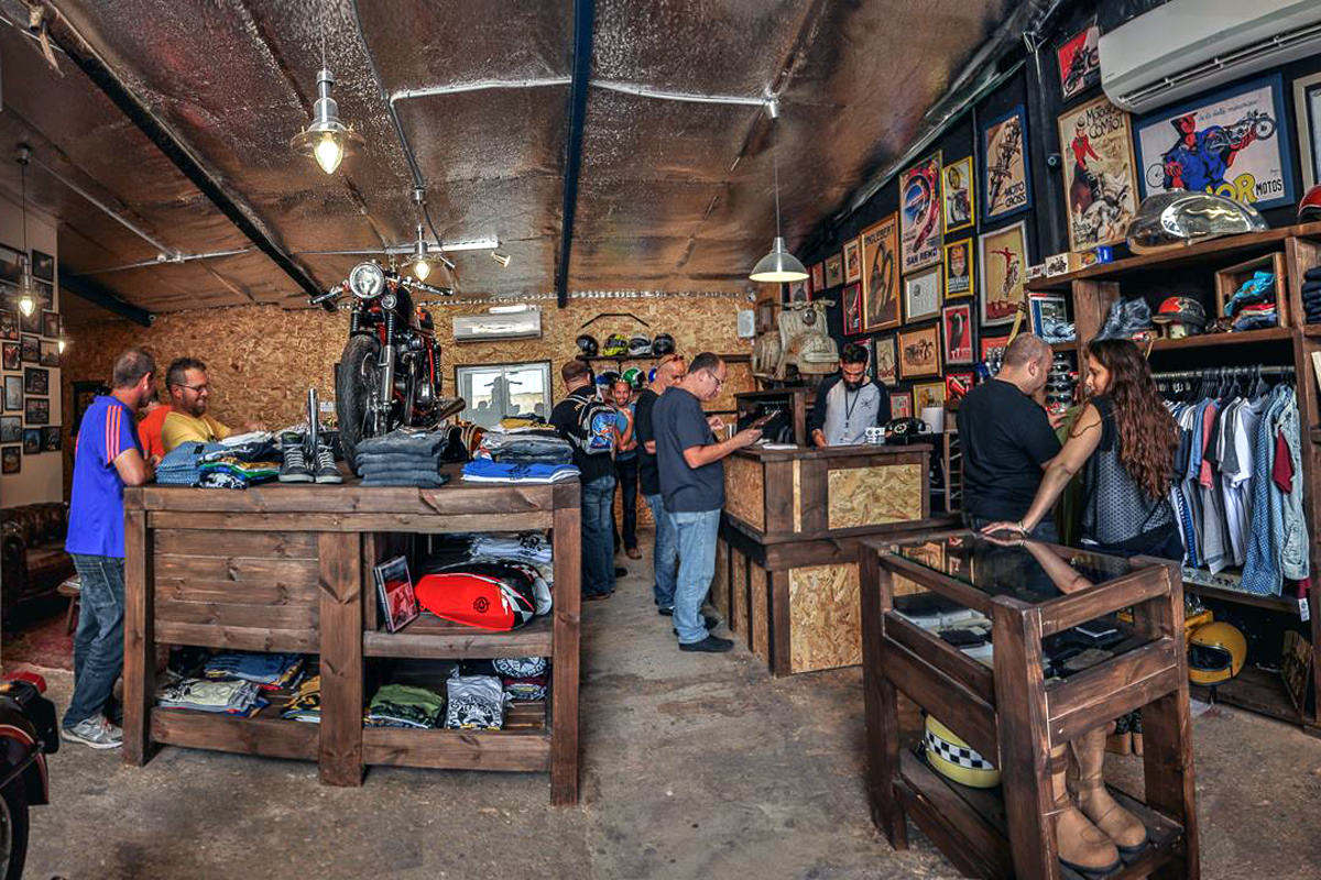 exceptional motocycle shop #4: Why open shop in Ness Ziona rather than a major center, like Tel Aviv? When  I asked people and friends where they think such a shop should be, ...