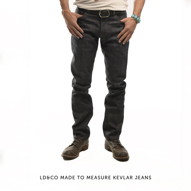 LD&CO kevlar motorcycle jeans