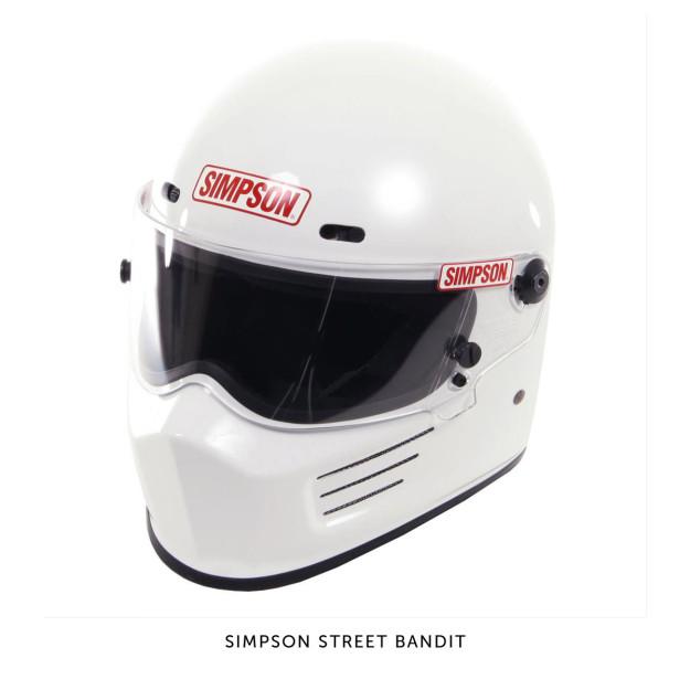 Simpson Street Bandit motorcycle-helmet