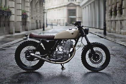 Better Than Factory: Auto Fabrica's Yamaha SR400 custom.
