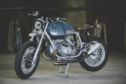 Tim Harney's custom BMW R75/6 is an essay in simplicity—as befits a former industrial designer.
