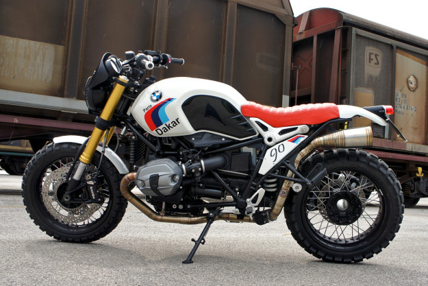 Can't wait for the BMW scrambler? Custom builder Luis Moto has the answer.