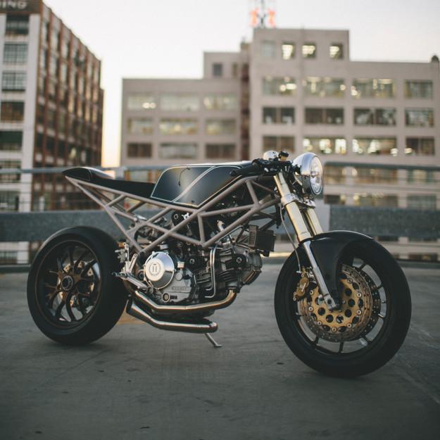 The motorcycle as art: Ducati MH900 by Hazan Motorworks.