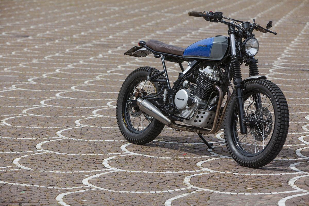 beach body: the honda dominator nx650, italian style   bike exif