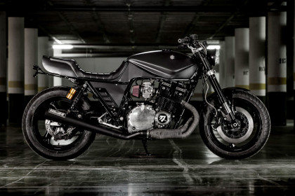 Iron Fist: Macco Motors' brutal custom Suzuki Katana