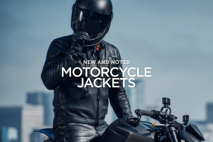 The best classic motorcycle jackets for men.