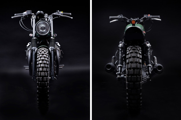 Venier Customs' Moto Guzzi 'Tractor 03'
