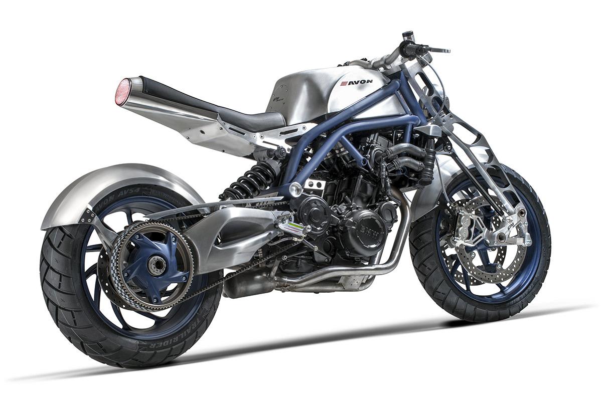 Euro Fighter: Avon Tyres' wild BMW F800S | Bike EXIF