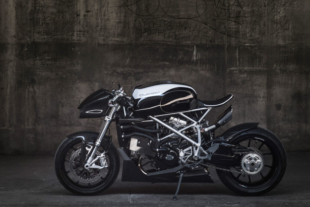 Extreme Machine: custom Ducati 848 by Apogee Motoworks.