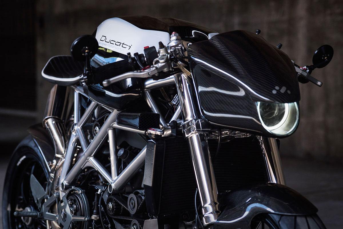 Extreme Machine: custom Ducati 848 by Apogee Motoworks.