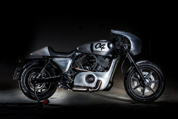 Harley-Davidson Street 750 custom from the Czech Republic