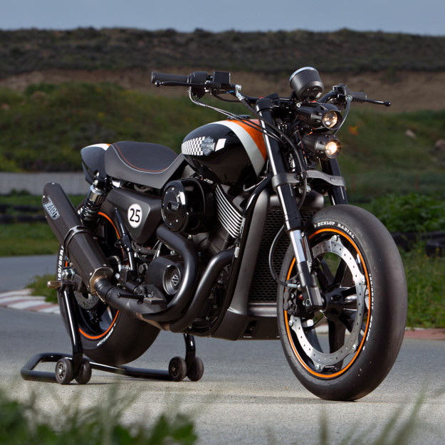 Harley-Davidson Street 750 custom from Norway