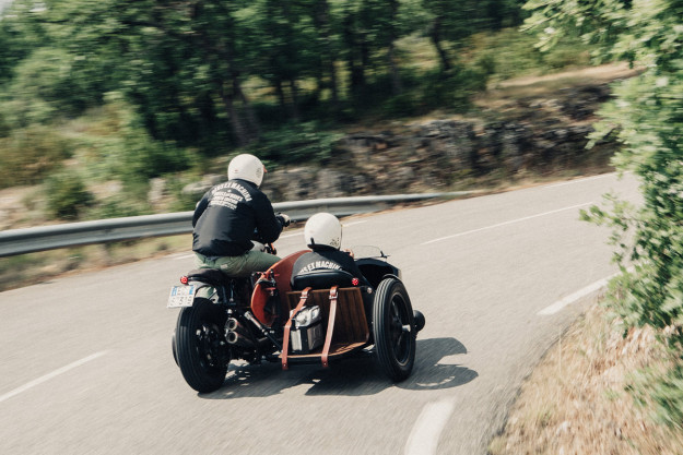 A Bit On The Side: the Deus x Yamaha D-Side custom sidecar rig.