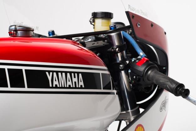 A killer race-inspired Yamaha XS850 by Dutchman Maarten Poodt.