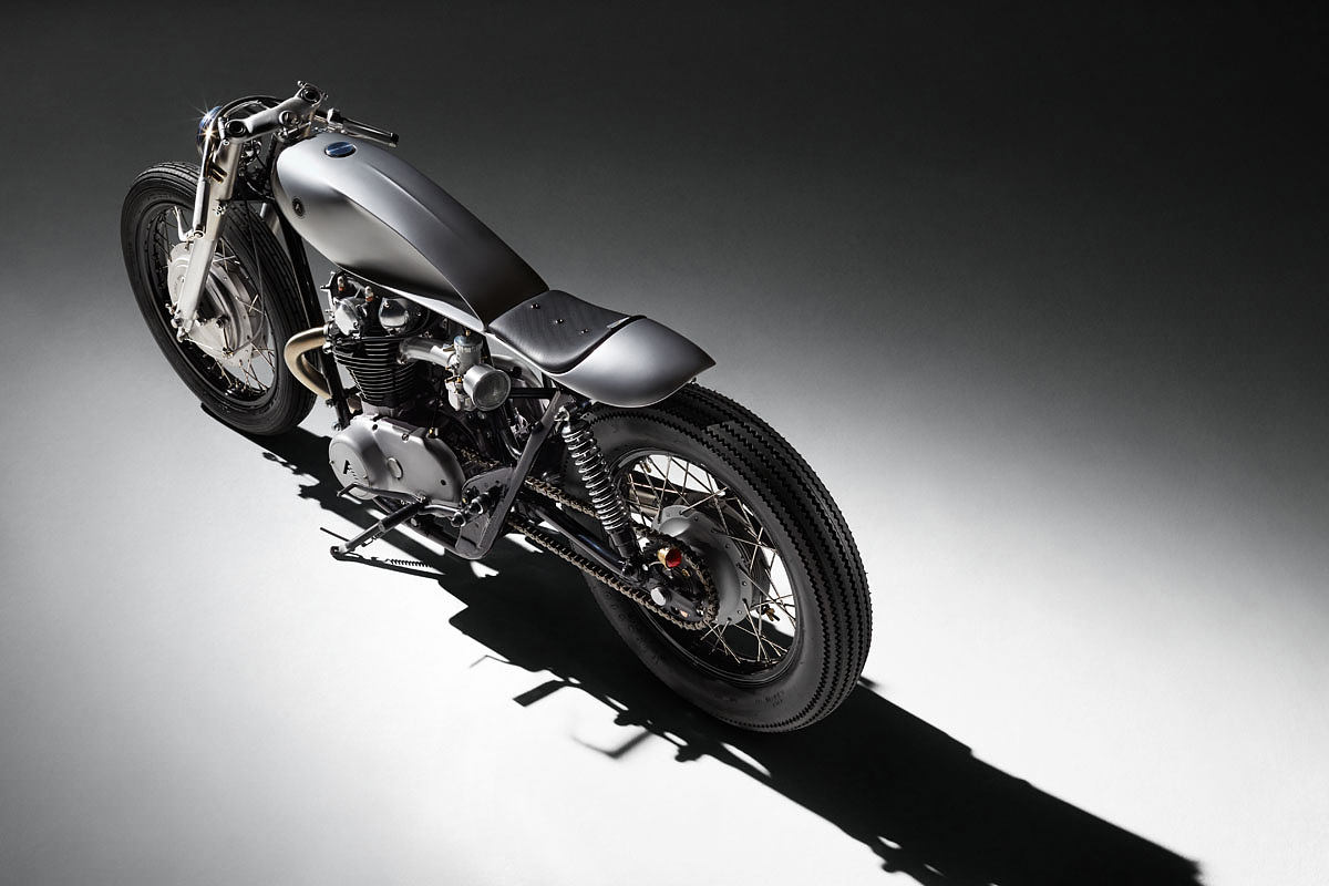 The auto fabrica type 6 reduced to perfection bike exif for Yamaha motorcycle types
