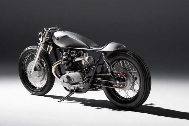 An extraordinary custom Yamaha XS650 built by the English workshop Auto Fabrica.